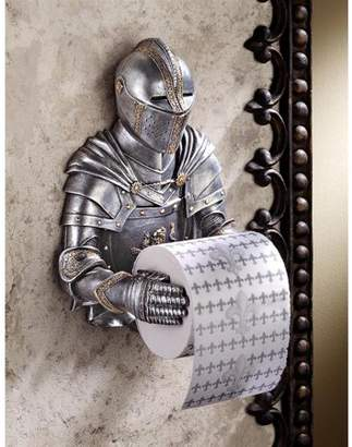 Toscano Design A Kinght to Remember Gothic Bath Tissue Holder