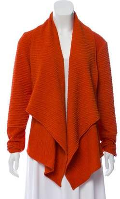 Alberto Makali Ruched Open Front Cardigan