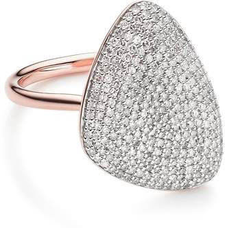 Monica Vinader Nura Teardrop Diamond Ring