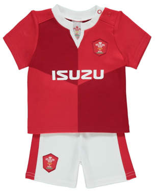 George Welsh Rugby Union Top and Shorts Outfit