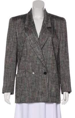 Christian Dior Lightweight Button-Up Blazer