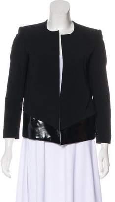 Helmut Lang Angora-Blend Structured Jacket