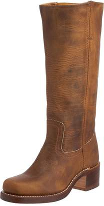 Frye Women's Campus 14L Boot, Dark Brown