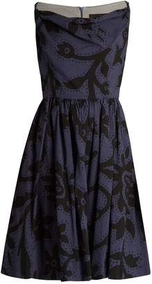 Vivienne Westwood Twisted Monroe printed skater dress