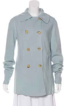 Iceberg Lightweight Wool Coat