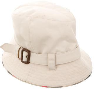 Burberry Burberry Canvas Nova Check Hat