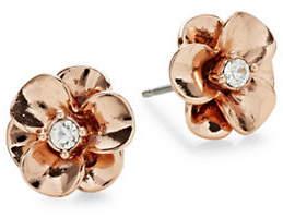 Kate Spade Shine On Rose Goldtone Flower Stud Earrings