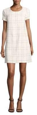 CeCe Kayte Plaid Mini Dress