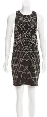 Nicole Miller Embellished MIni Dress w/ Tags