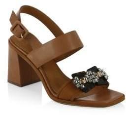 Tory Burch Delaney Block Heel Sandals