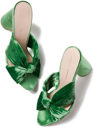 Loeffler Randall Coco Velvet Heel Sandals