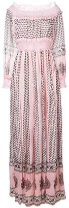Giambattista Valli printed bardot maxi dress
