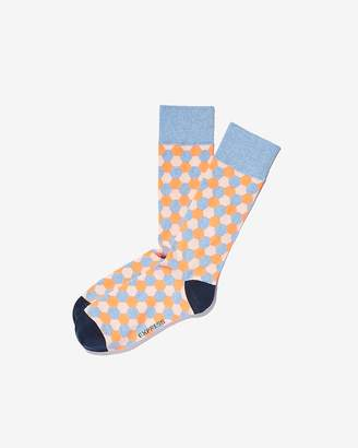 Express Honeycomb Dress Socks