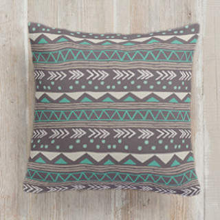 The Great Tribe Square Pillow