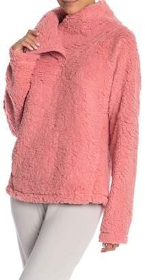 Zella Z By Down to Earth Fleece Pullover