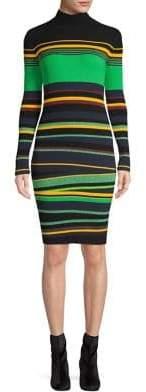 Diane von Furstenberg Ribbed Bodycon Dress