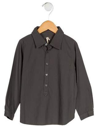Babe & Tess Boys' Collared Button-Up Shirt w/ Tags