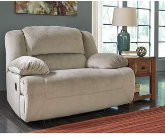 Signature Design by Ashley Tolette Wide Seat Recliner Reclining Type: Manual