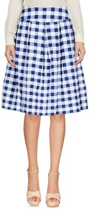 Rose' A Pois Knee length skirts