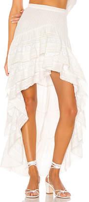 LoveShackFancy Lisette Maxi Skirt