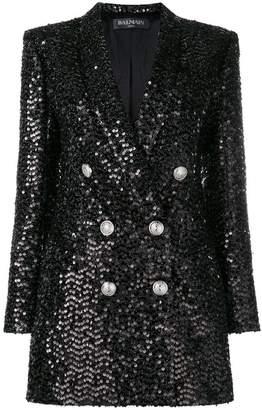 Balmain sequined blazer
