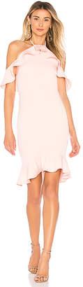 by the way. Natalia Ruffle Halter Dress