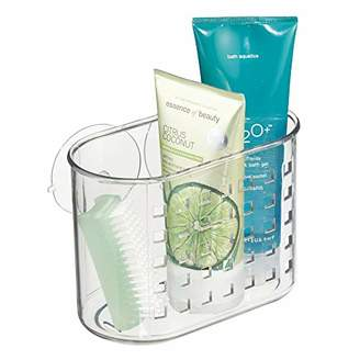 InterDesign Suction Bathroom Caddy – Shower Storage Shelf for Soaps and Sponges