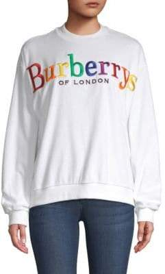 Burberry (バーバリー) - Burberry Rainbow Logo Sweatshirt