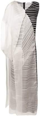 Chalayan layered long dress