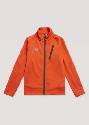 Emporio Armani Ea7 Boys Honeycomb Technical Fabric Sweatshirt