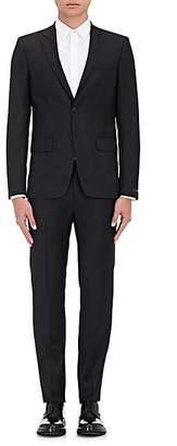 Givenchy Men's Wool Twill Two-Button Suit - Black