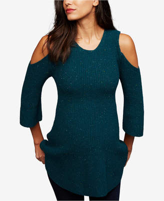 A Pea in the Pod Maternity Cold-Shoulder Sweater