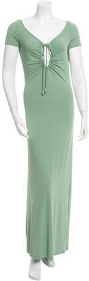 Jean Paul Gaultier Sleeveless Maxi Dress $120 thestylecure.com