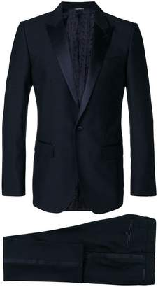 Dolce & Gabbana satin trim dinner suit