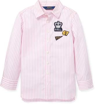 Ralph Lauren Bengal-Stripe Cotton Tunic