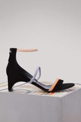 Pierre Hardy Riva Bella suede sandals