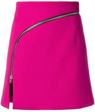 Alexander Wang mini zipped skirt