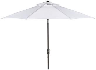 Safavieh Up Resistant Ortega 9 Ft Auto Tilt Crank Umbrella