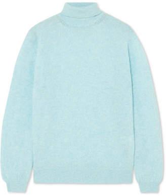 Khaite - Julie Cashmere Turtleneck Sweater - Light blue