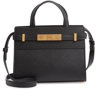 Saint Laurent Nano Manhattan Calfskin Crossbody Bag