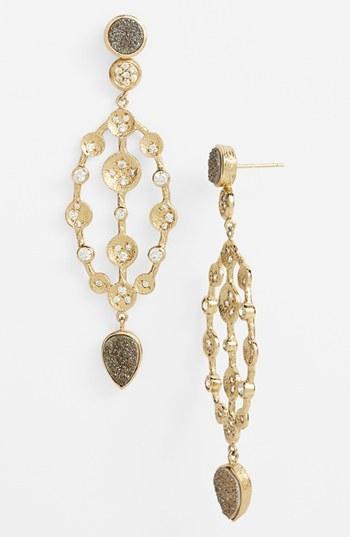 Melinda Maria 'Savannah' Drop Earrings