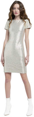 Alice + Olivia Delora Fitted Cocktail Dress