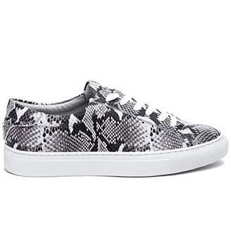 J/Slides Women's Lacee Sneaker Leather Size 8