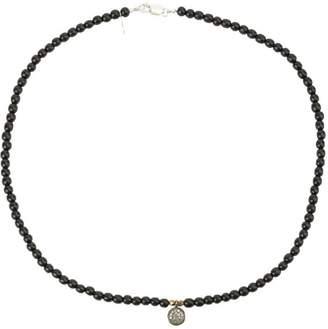 Catherine Michiels ebony beaded bracelet