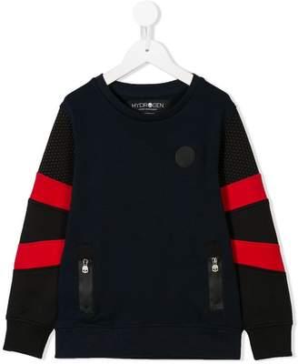 Hydrogen Kids striped sleeves sweater