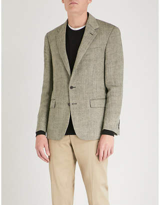 Polo Ralph Lauren Polo notch-lapel linen and silk-blend jacket