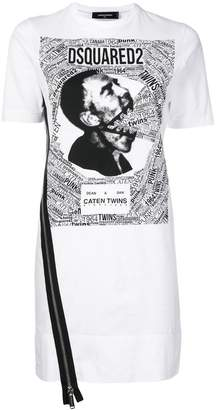 DSQUARED2 printed T-shirt dress