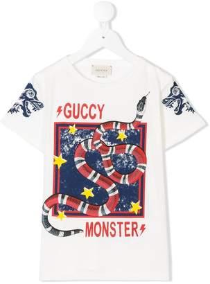 a53eeedfbf6 Monster Logo T-shirt - ShopStyle