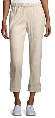 Theory Thorina Tierra Wash Cropped Pants $285 thestylecure.com
