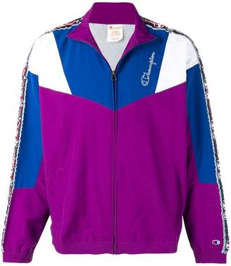 Champion colour block sports jacket